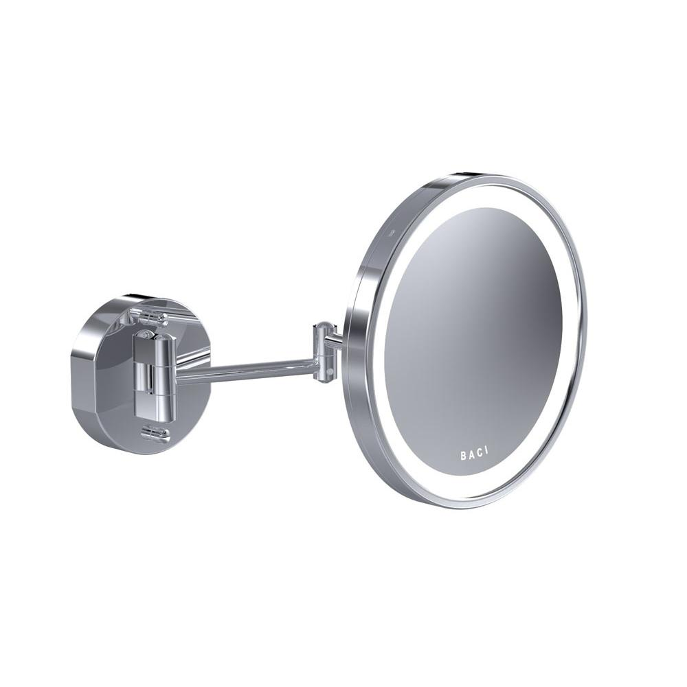 Baci Mirrors Magnifying Mirrors Bathroom Accessories item BSR-302-SN