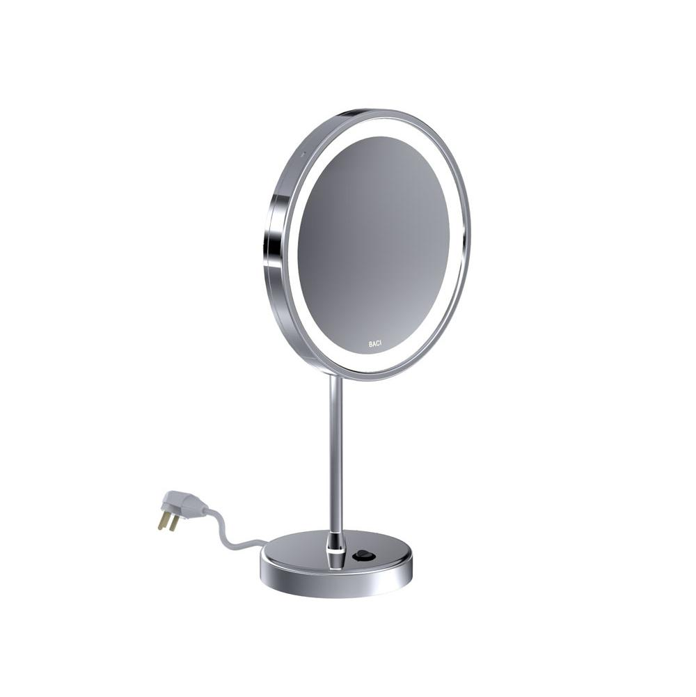 Baci Mirrors Magnifying Mirrors Bathroom Accessories item BSR-321-PN
