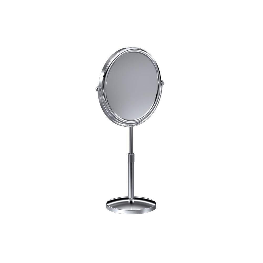 Baci Remcraft Magnifying Mirrors Bathroom Accessories item E6-X SATIN NICKEL