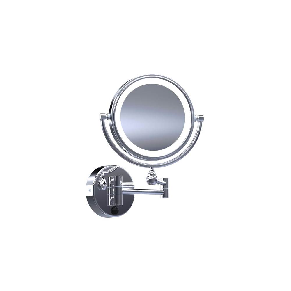 Baci Mirrors Magnifying Mirrors Bathroom Accessories item EH40-BNZ