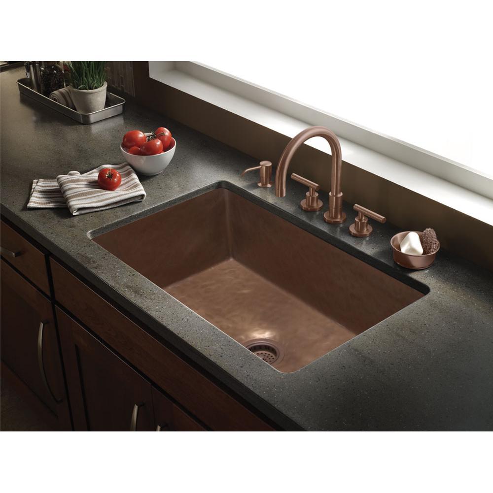 Kitchen Sinks Undermount Bronze Tones | Faucets N' Fixtures - Orange on farmhouse kitchen sink faucet, wall mount kitchen sink faucet, single kitchen sink faucet,