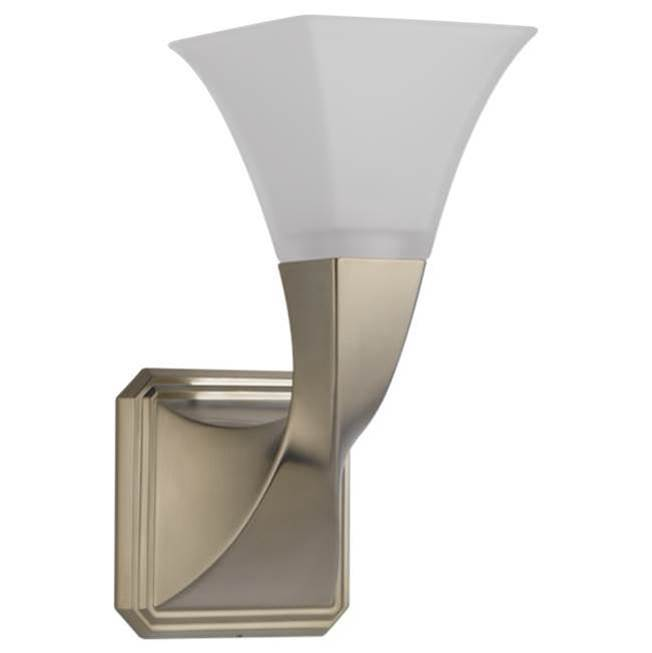 Brizo One Light Vanity Bathroom Lights item 697030-BN