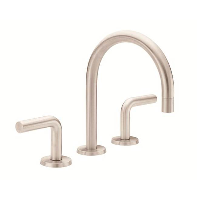 California Faucets Widespread Bathroom Sink Faucets item 7502ZB-MWHT