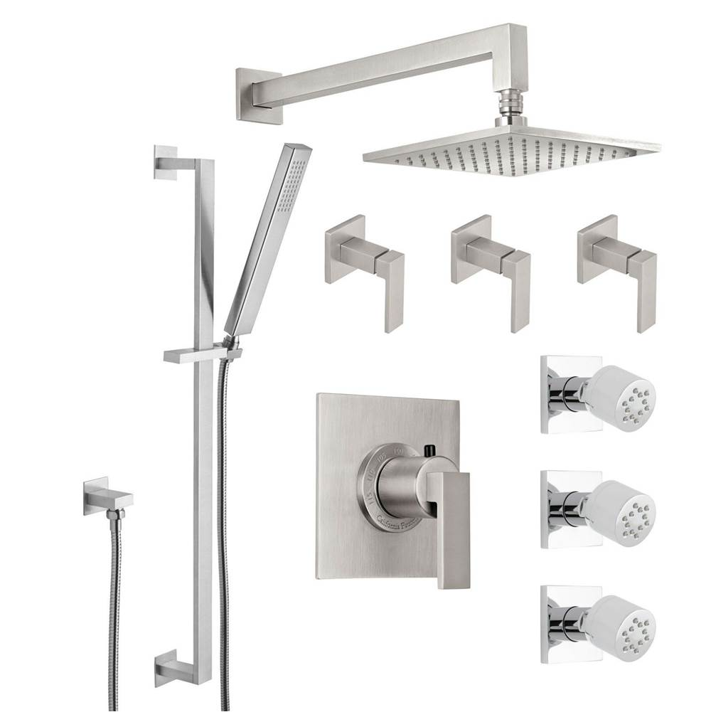 California Faucets Shower System Kits Shower Systems item KT08-77.25-ORB