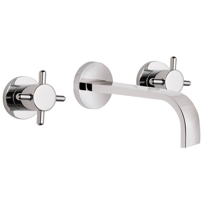 California Faucets Wall Mounted Bathroom Sink Faucets item TO-V7302-7-MBLK