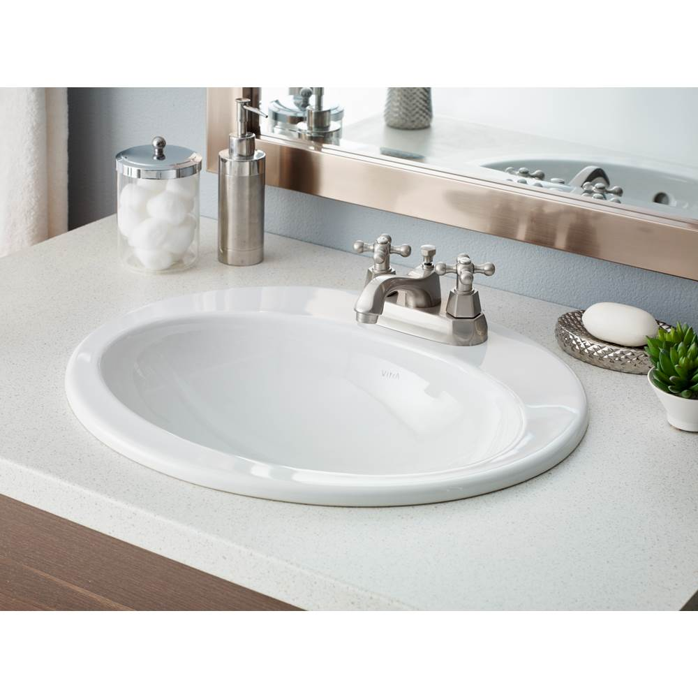 Cheviot Products  Bathroom Sink And Faucet Combos item 1168-WH-4