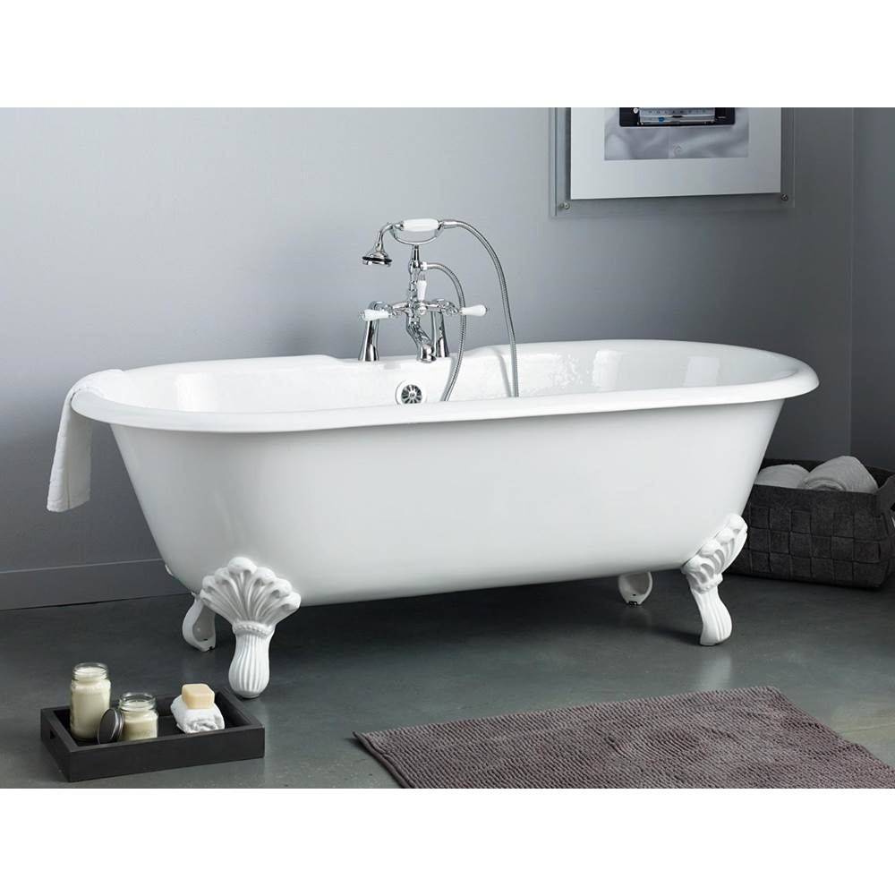 Cheviot Products Clawfoot Soaking Tubs item 2180-WC-8-PB