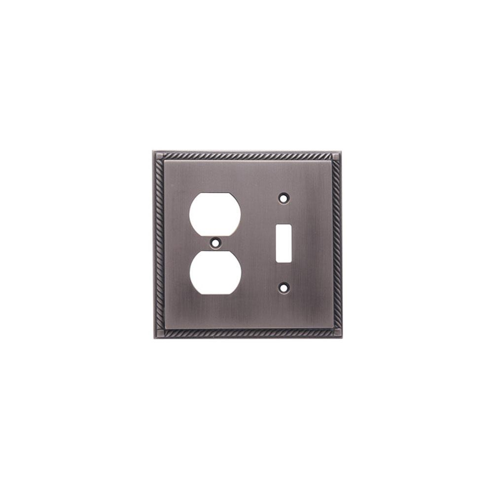 Colonial Bronze  Switch Plates item 6006-1NC-M11