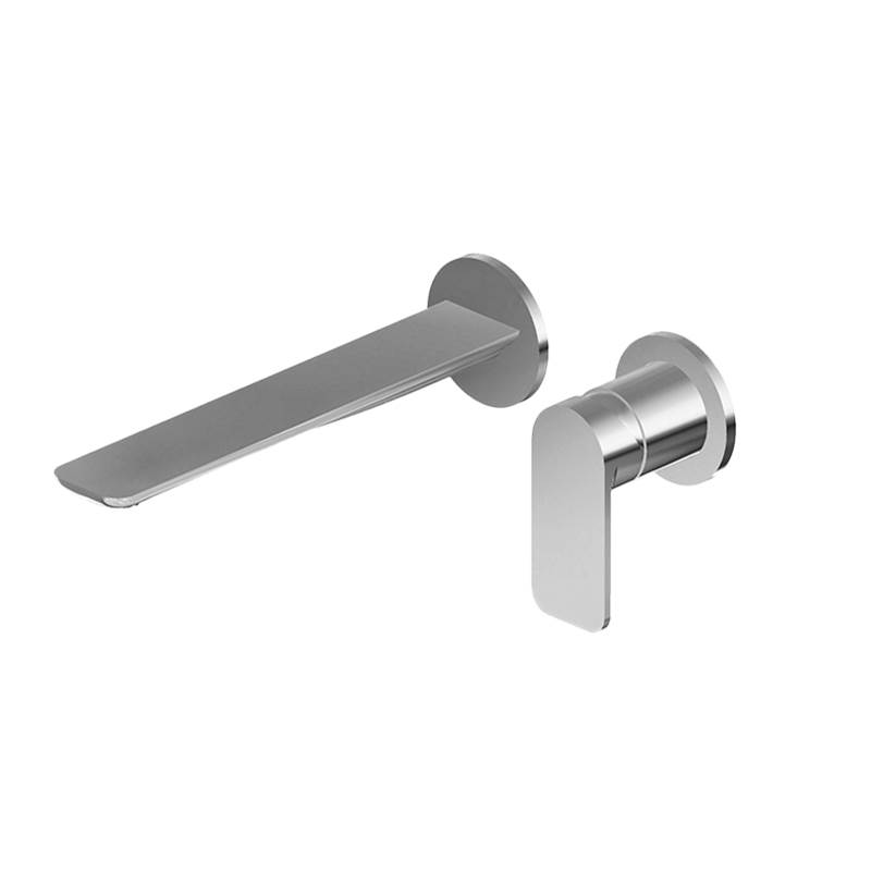 Graff Wall Mounted Bathroom Sink Faucets item G-6339-LM42W-PN