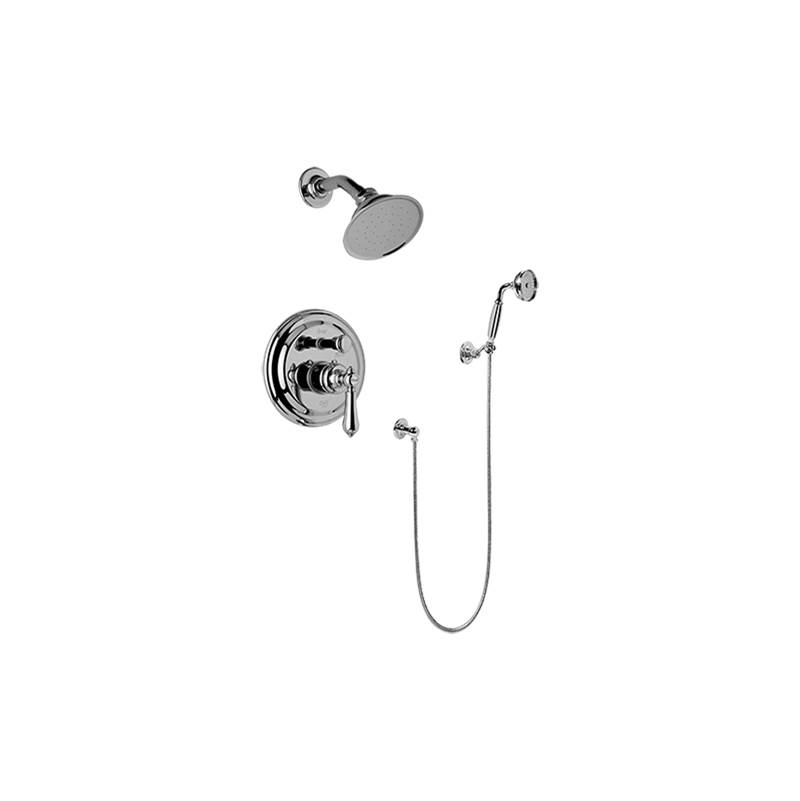 Graff Complete Systems Shower Systems item G-7167-LM34S-PN-T