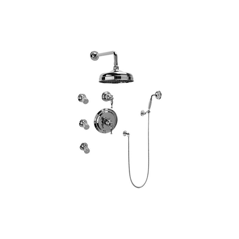 Graff Complete Systems Shower Systems item GA5.222B-LM22S-AU-T