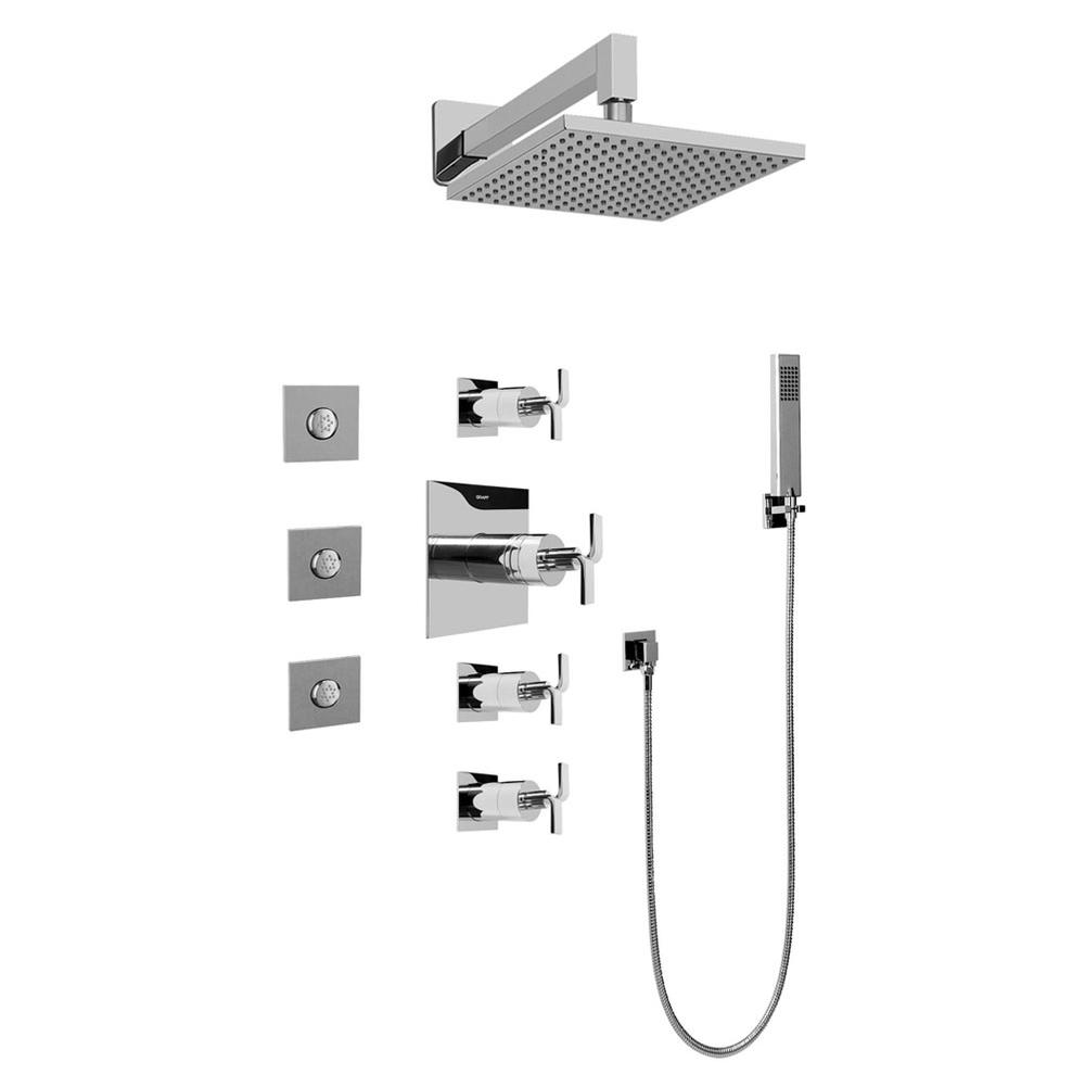Graff Complete Systems Shower Systems item GC1.122A-C9S-PC
