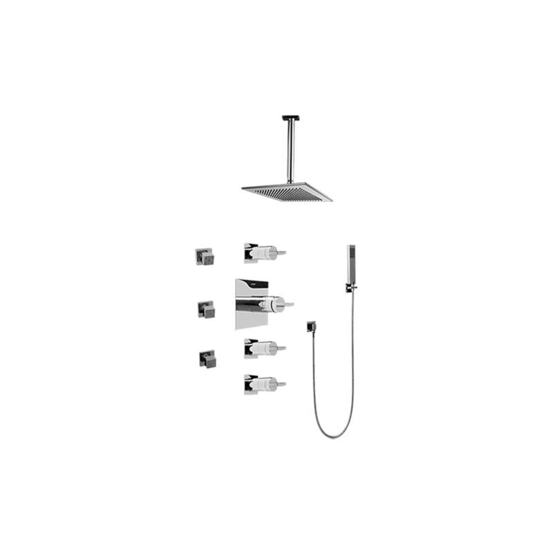 Graff Complete Systems Shower Systems item GC1.221A-C14S-PC-T