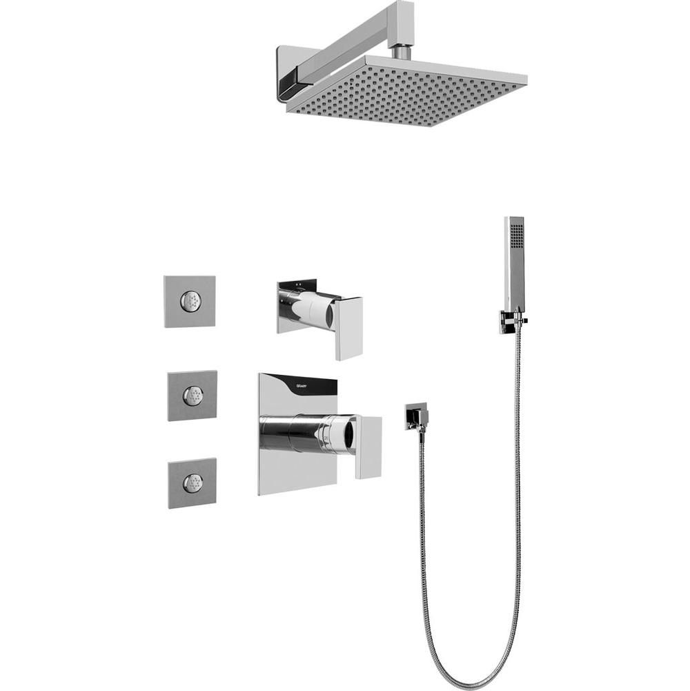 Graff Complete Systems Shower Systems item GC5.122A-LM31S-PC