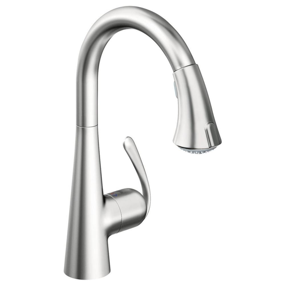 Grohe Kitchen Faucets Steel | Faucets N\' Fixtures - Orange and Encinitas