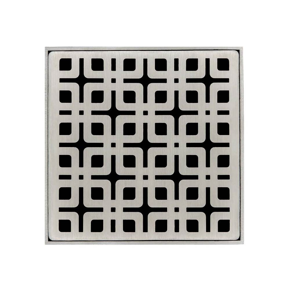 Infinity Drain Drain Covers Shower Drains item KS 4 SS