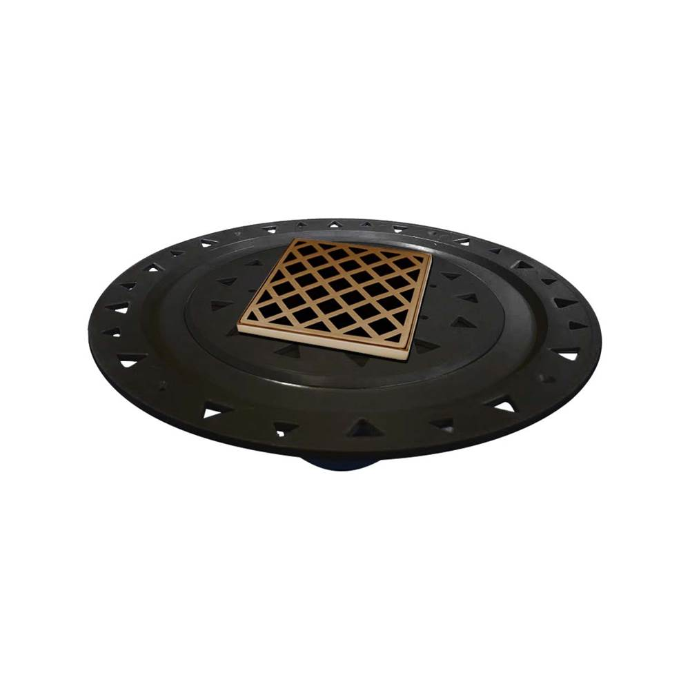 Infinity Drain Flanged Commercial Drainage item Xdb 4-A Sb