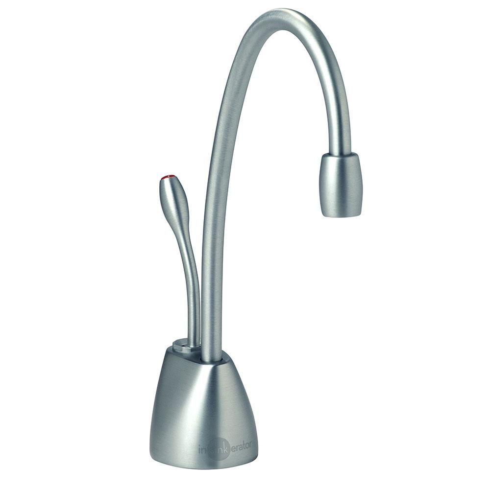 nickel faucets brushed stark dispensers front water kitchen dispenser hot faucet