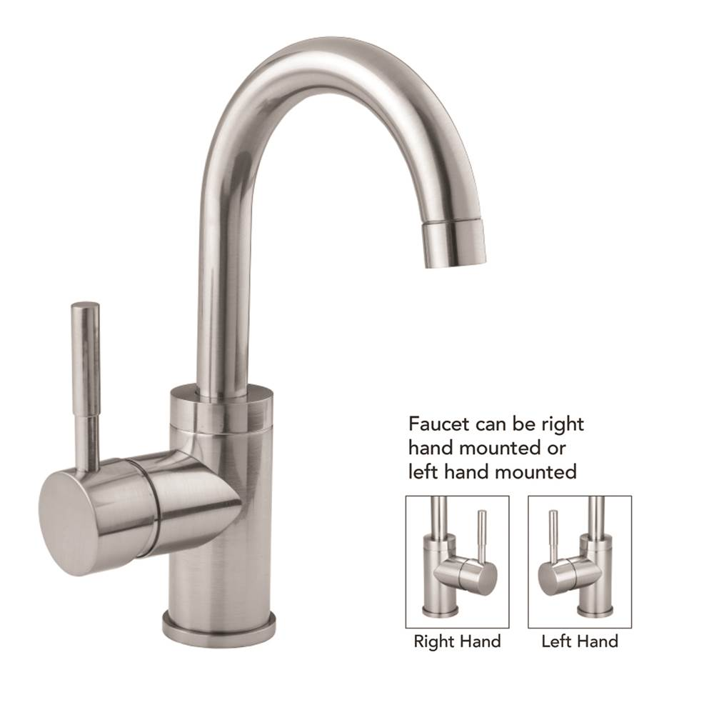 Jaclo Single Hole Kitchen Faucets item 6677-812-SDB