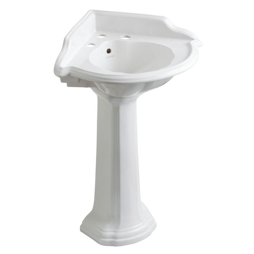 Sinks Pedestal Bathroom Sinks | Faucets N\' Fixtures - Orange and ...