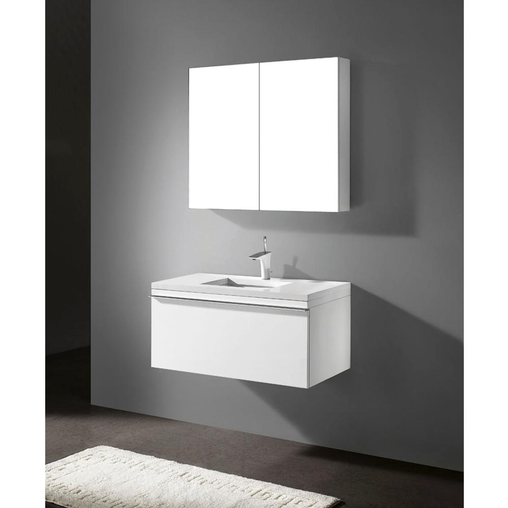 Madeli Wall Mount Vanities item B992-36C-002-GW