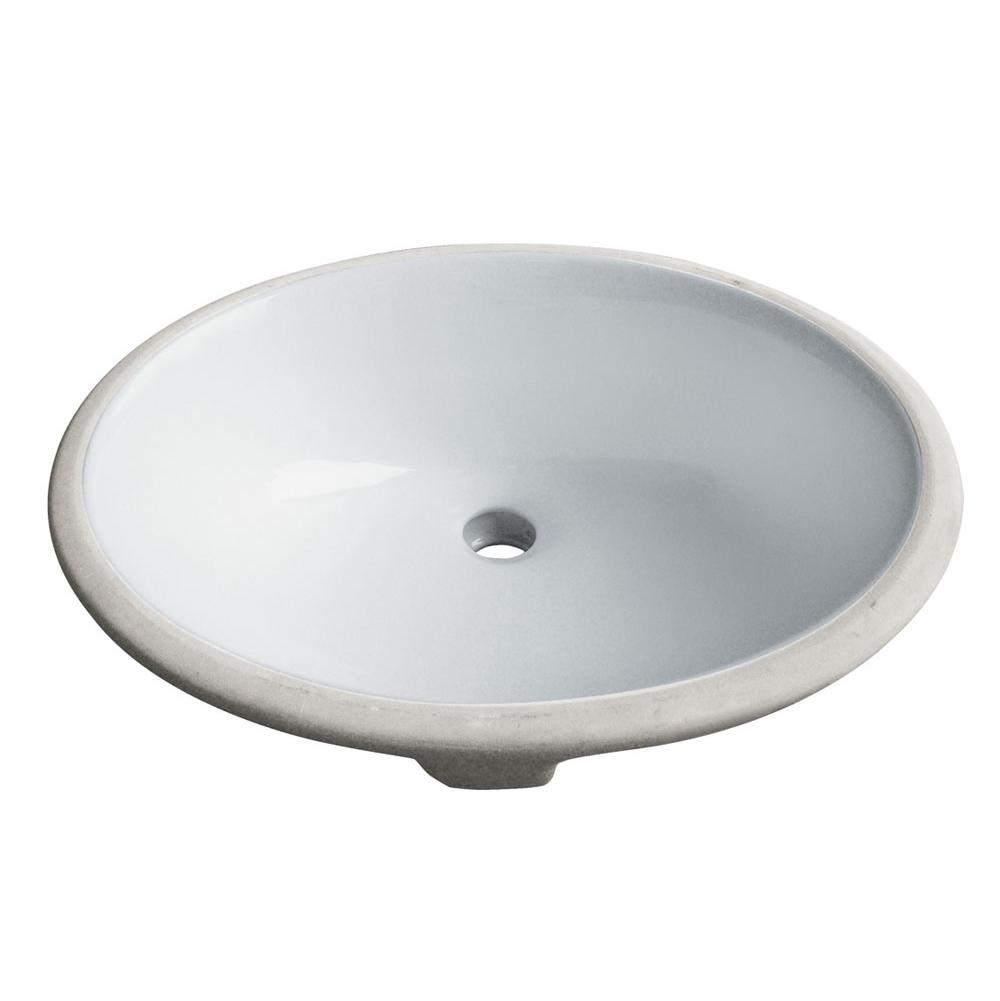 Madeli Undermount Bathroom Sinks item CB-16-WH