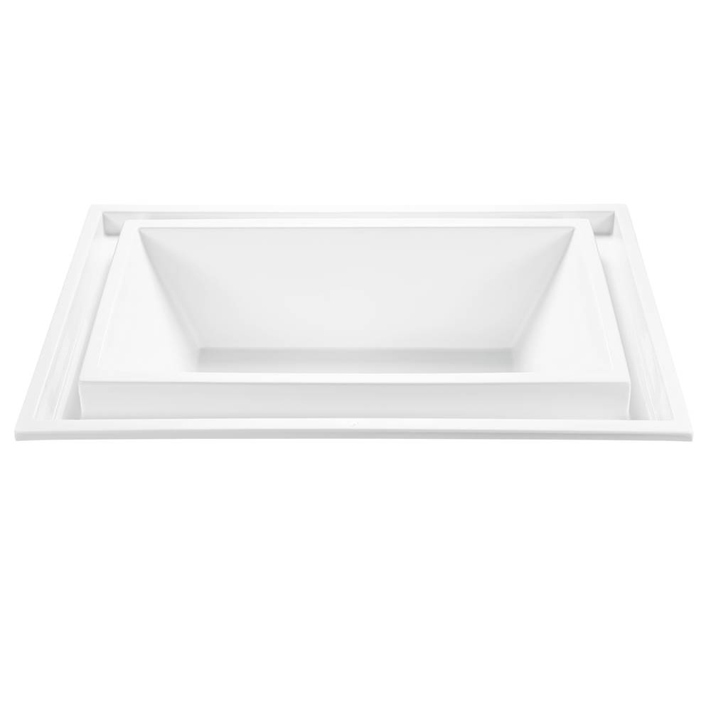 MTI Baths Undermount Whirlpool Bathtubs item P89U-AL-UM