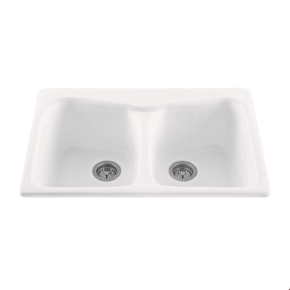 MTI Baths Drop In Kitchen Sinks item MBKS80-COL