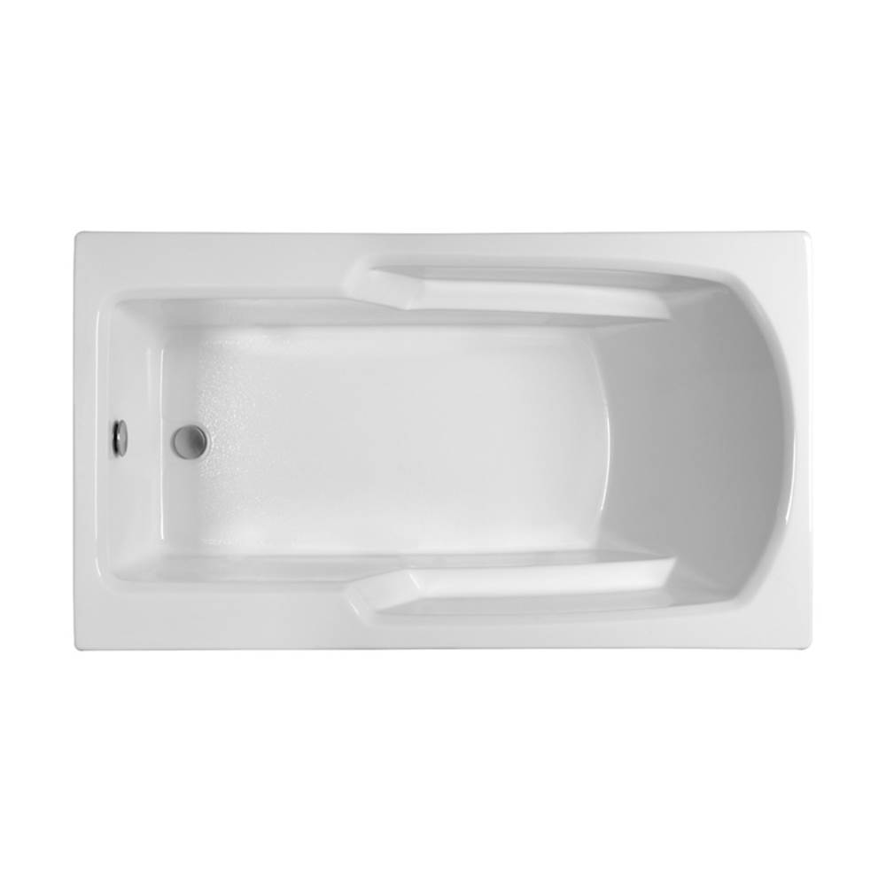 MTI Baths Drop In Soaking Tubs item MBSRR6032E-WH