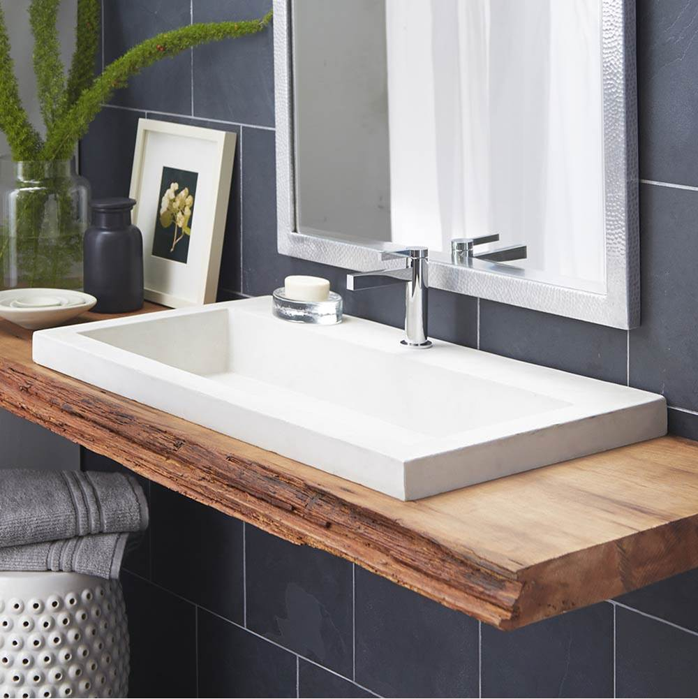 Native Trails Drop In Bathroom Sinks item NSL3619-PX