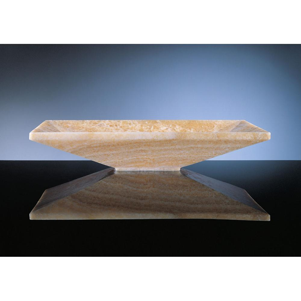 Stone Forest Vessel Bathroom Sinks item C50-24 WO