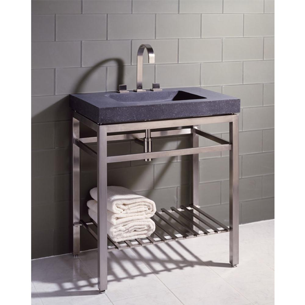 Stone Forest Floor Standing Bathroom Sinks item IVG-31.5 HB