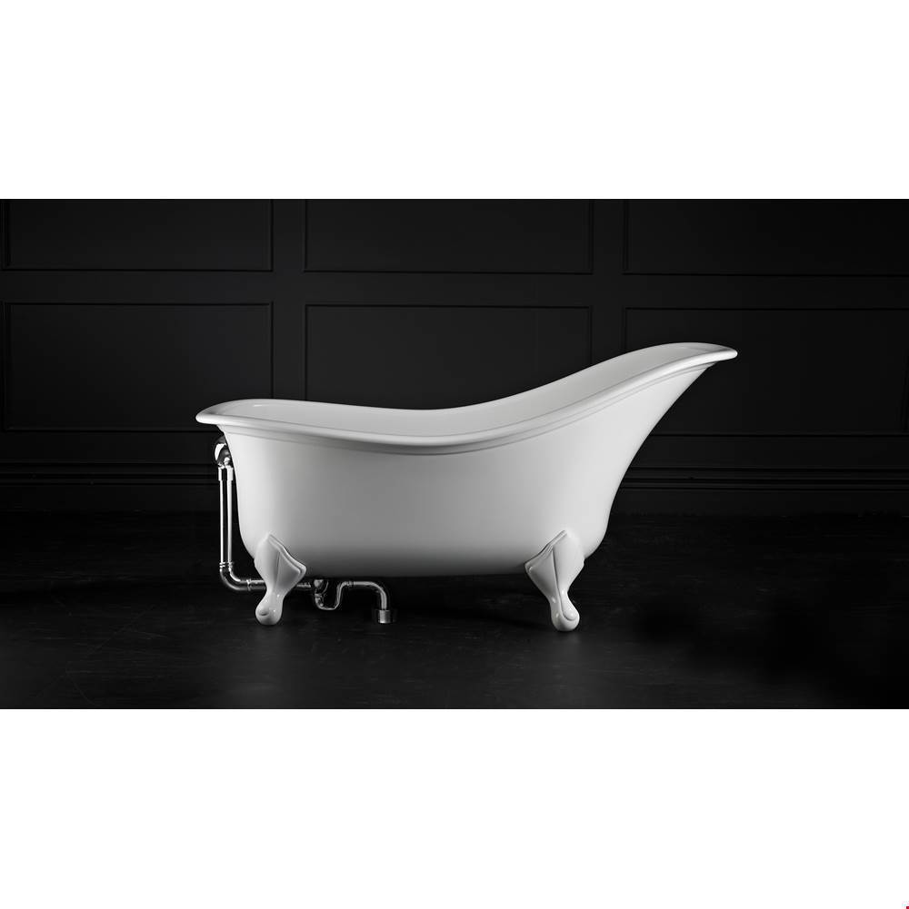 Victoria And Albert Clawfoot Soaking Tubs item DRA-N-SW-OF + FT-DRA-PC