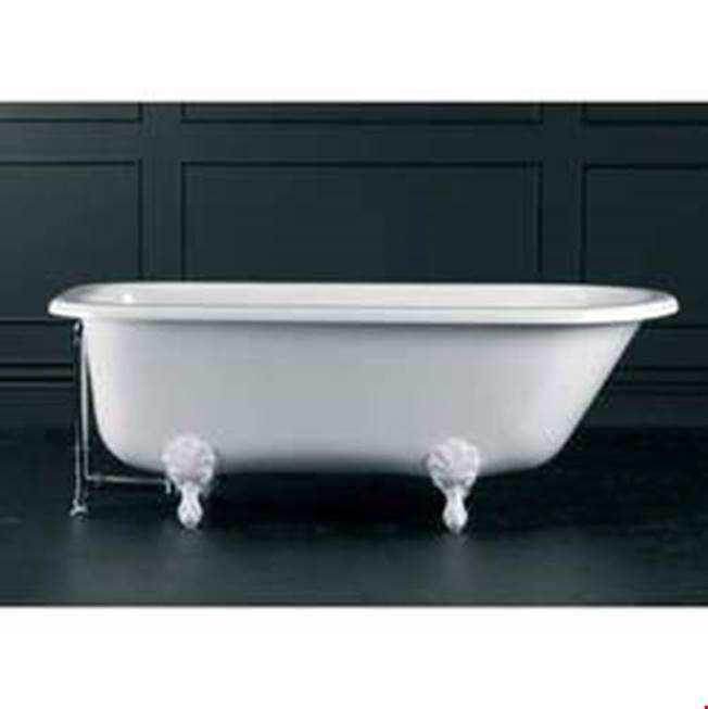 Victoria And Albert Clawfoot Soaking Tubs item HAM-N-xx-OF + FT-HAM-WH