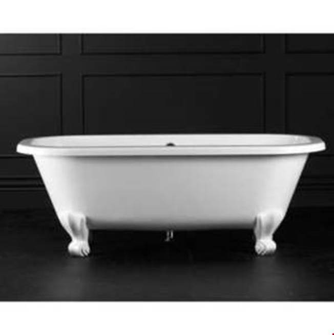 Victoria And Albert Clawfoot Soaking Tubs item RIC-N-SW-OF + FT-RIC-SW