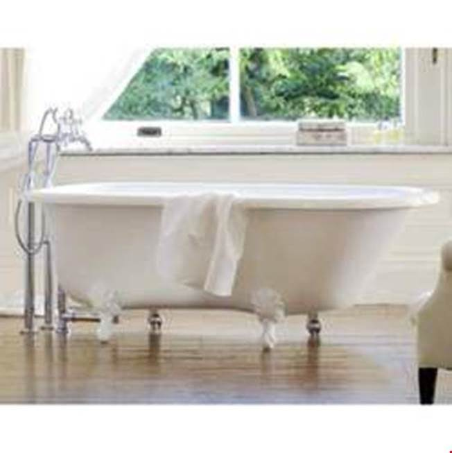 Victoria And Albert Clawfoot Soaking Tubs item WES-N-xx-OF + FT-HAM-xx