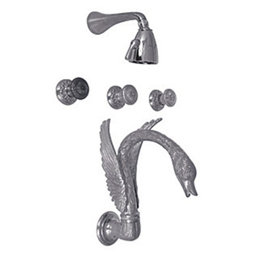 Watermark Pewter Door Hardware | Faucets N\' Fixtures - Orange and ...