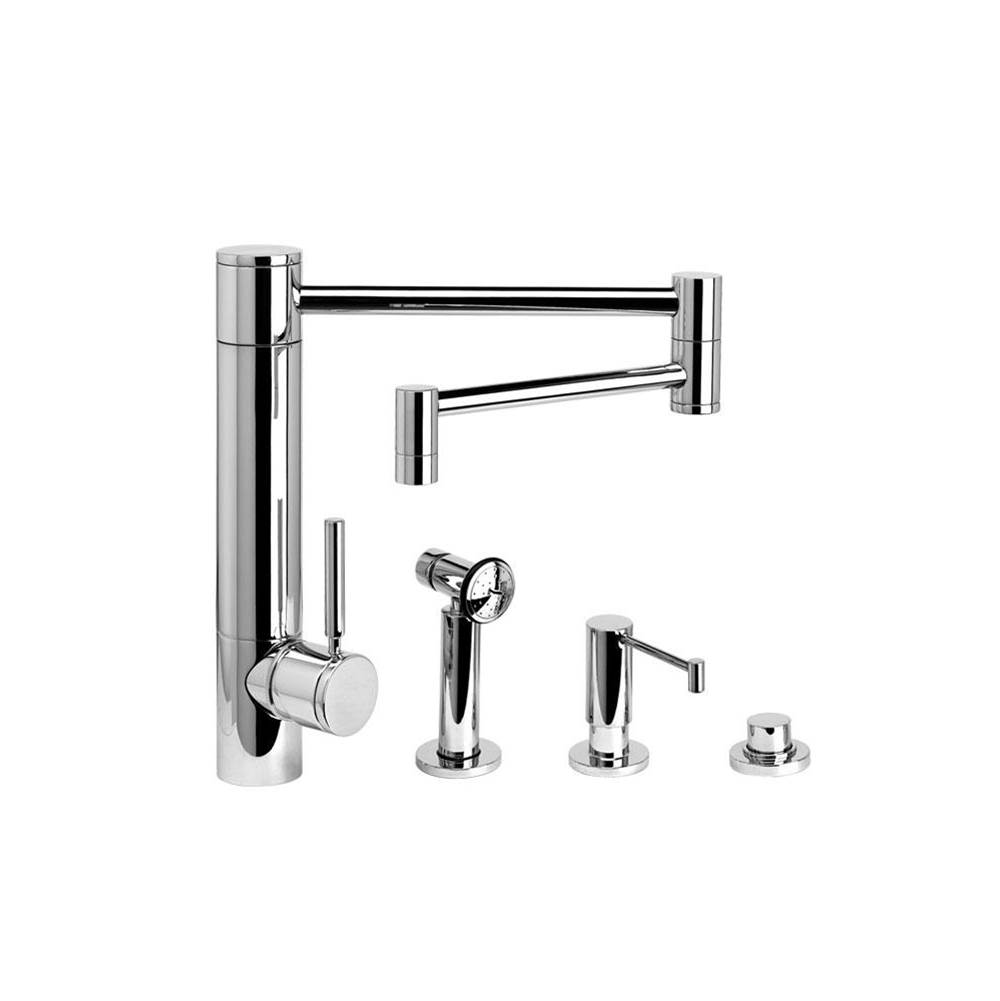 Waterstone Single Hole Kitchen Faucets item 3600-18-3-MB