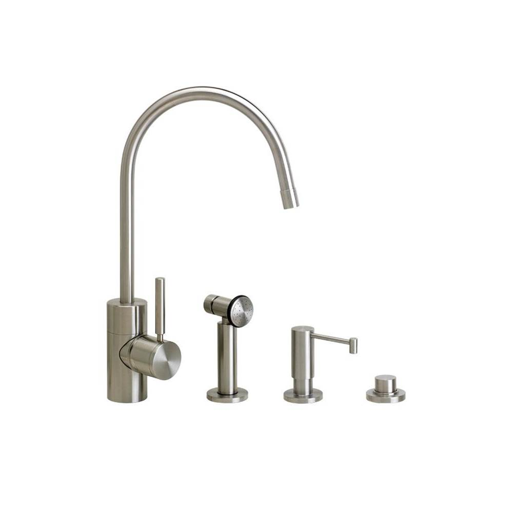 Waterstone Single Hole Kitchen Faucets item 3800-3-PG