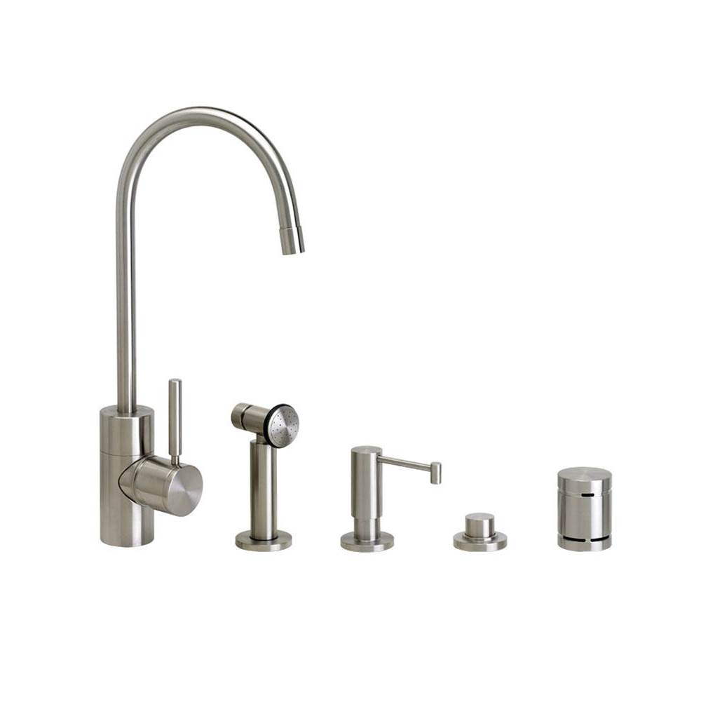 Waterstone Single Hole Kitchen Faucets item 3900-4-SC