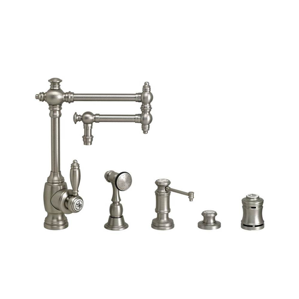 Waterstone Single Hole Kitchen Faucets item 4100-12-4-PB