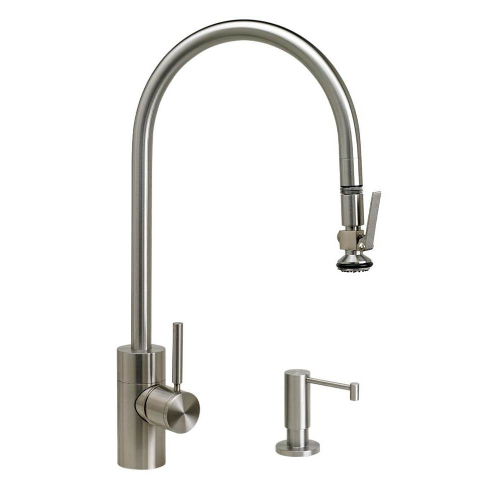 Waterstone Deck Mount Kitchen Faucets item 5700-2-AC