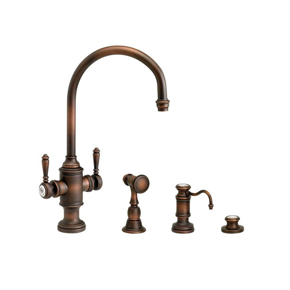 Waterstone Single Hole Kitchen Faucets item 8030-3-WB