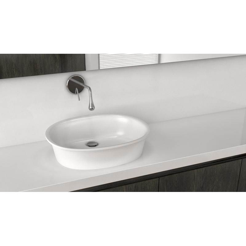 Wet Style Vessel Bathroom Sinks item VTP821A-O-BN-GA