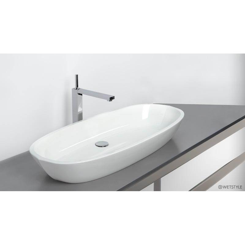 Wet Style Vessel Bathroom Sinks item VBE836A-O-MB-GA
