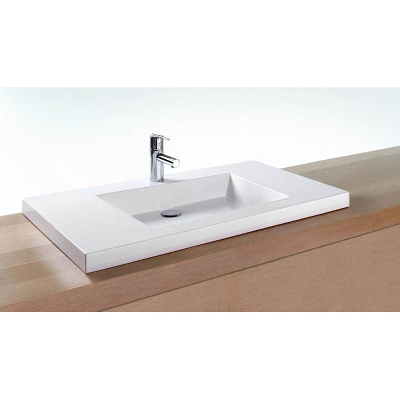 Wet Style Vessel Bathroom Sinks item VCMS36-O-8-PC-MA