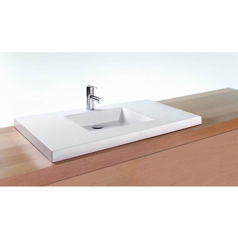 Wet Style Vessel Bathroom Sinks item VCS36C-O-1-NT-MA