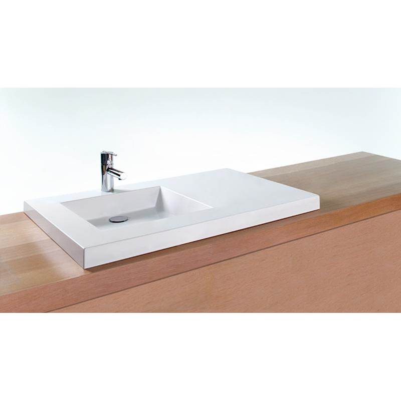 Wet Style Vessel Bathroom Sinks item VCS36R-O-1-SB-GA