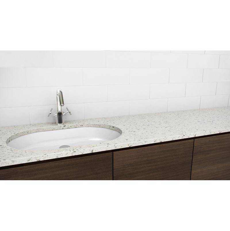 Wet Style Vessel Bathroom Sinks item VOV821U-O-BN-MA