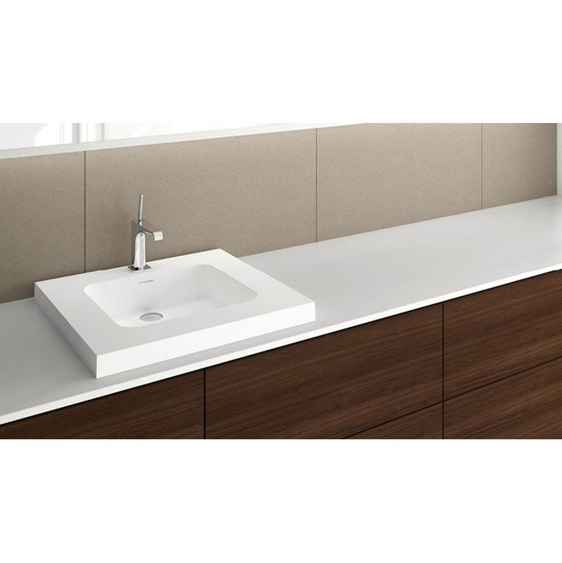 Wet Style Drop In Bathroom Sinks item VDCOS24-O-8-MB-GA